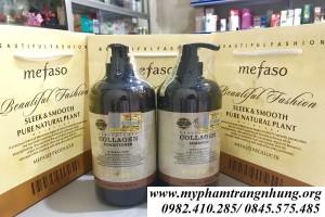 Bộ dầu gội xả collagen argan mefaso – Ý