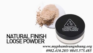 Phấn bột 3CE natural finish loose powder