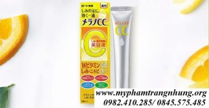 Serum dưỡng da Vitamin C Melano CC Rohto