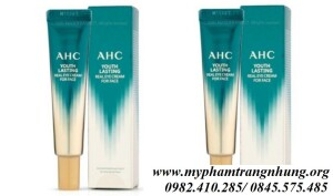 KEM MẮT AHC YOUTH LASTING REAL EYE CREAM FOR FACE