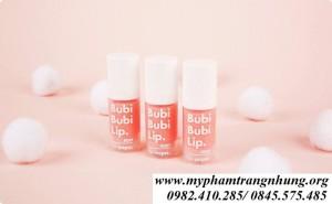 Tẩy tế bào chết sủi bọt Bubu Bubi Lip