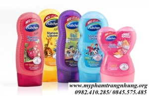 Sữa tắm gội Bubchen Shampoo & shower