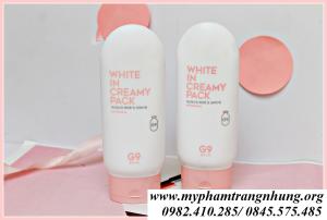 Kem Tắm Trắng G9 Skin White In Creamy Pack Hàn Quốc