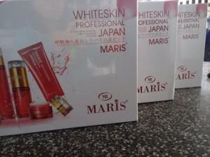 Giới thiệu về bộ mỹ phẩm trị nám maris Nhật Bản