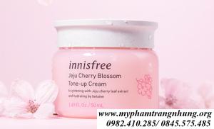 Kem Dưỡng Innisfree Jeju Cherry Blossom Tone Up Cream – kem ngày