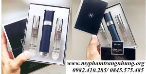 SET NƯỚC HOA CHANEL BLEU 3X18ML