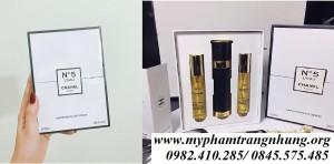 Set nước hoa Chanel Nº 5 set 3 ống 3x18ml
