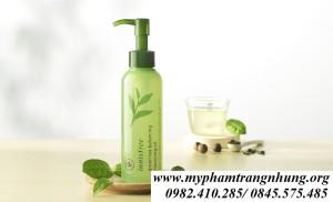 Dầu tẩy trang Innisfree Green Tea Fresh cho da dầu