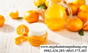 Kem Dưỡng Trắng Da Innisfree Tangerine Vita C Gel Cream
