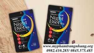 Trà giảm cân Orihiro Night Diet Tea của Nhật
