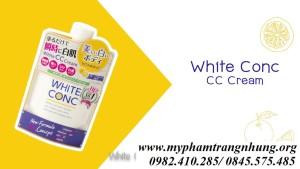 Sữa dưỡng thể White Conc Body CC Cream With Vitamin-C