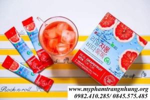 Nước Uống Bưởi Sanga Real Grapefruit Vita Tok Tok
