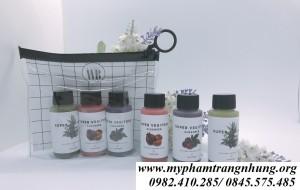 Set sữa rửa mặt rau củ Super Vegitoks Cleanser mini