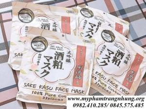 Mặt nạ Sake Kasu Face Mask Bã Rượu