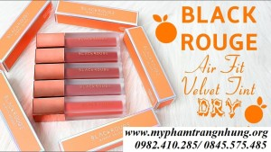 Son Black Rouge Air Fit Velvet Tint Version 3 Dry Fruit