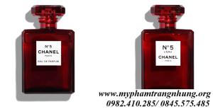 Nước Hoa Chanel N°5 Red EDP