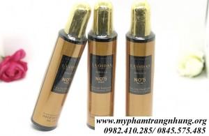 Xịt dưỡng tóc hương nước hoa L'uôdais No5
