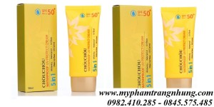 KEM CHỐNG NẮNG CHOUCHOU WATERPROOF UV PROTECT CREAM 5IN1