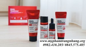 SET DƯỠNG SNAIL TRUECICA  MIRACLE REPAIR STARTER KIT SOME BY MI