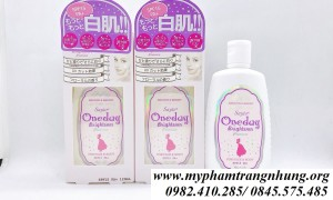SỮA DƯỠNG THỂ ONE DAY SMOOTH & BRIGHT LIGHT COLOR LOTION