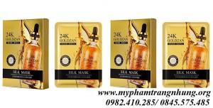 Mặt nạ lụa vàng 24k Goldzan Silk Mask
