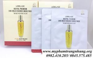 Mặt nạ vàng Lebelage Hee Yul Premium 24k Gold Essence Mask Pack