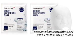 Mặt nạ làm trắng chuyên sâu Neogen Sur.Medic Bright Glutathione Mask