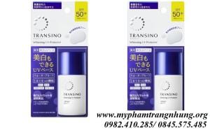 [NEW 2020] KEM DƯỠNG NGÀY CHỐNG NẮNG TRANSINO WHITENING UV PROTECTOR SPF50+ PA+++