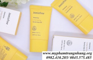 [NEW 2020] Kem chống nắng Innisfree Intensive Long Lasting Sunscreen EX SPF50+ PA++++