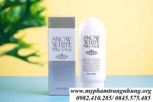 SỮA DƯỠNG THỂ LÀM TRẮNG DA SNOW WHITE MILKY PARK