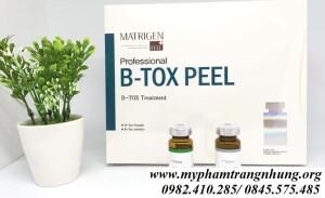 Matrigen B-Tox Peel  2 màu – Thay da sinh học cho vẻ đẹp tự nhiên