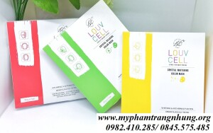 MẶT NẠ CHỈ TƠ LOUV CELL CRYSTAL WHITENING COLOR MASK