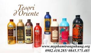 SỮA TẮM HƯƠNG NƯỚC HOA TESORI D'ORIENTE 500ML