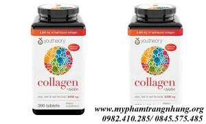 Viên uống Youtheory collagen biotin