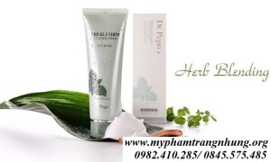 Sữa Rửa Mặt Dr Pepti Herb Blending Thảo Dược