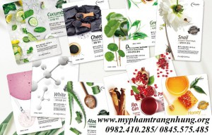 Mặt Nạ Giấy Holikey Essence Sheet Mask For All Skin Types