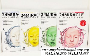 Mặt Nạ Dưỡng Da 24 Miracle Ample Mask