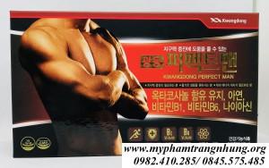 Viên Uống Bổ Lực Sinh Lý Nam Kwangdong Perfect Man