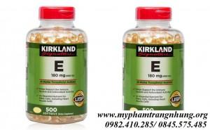 Viên Uống Vitamin E Kirkland Signature 400 IU 500 Viên